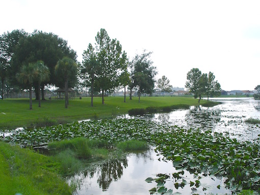 Lake and park Indian Wells Kissimmee